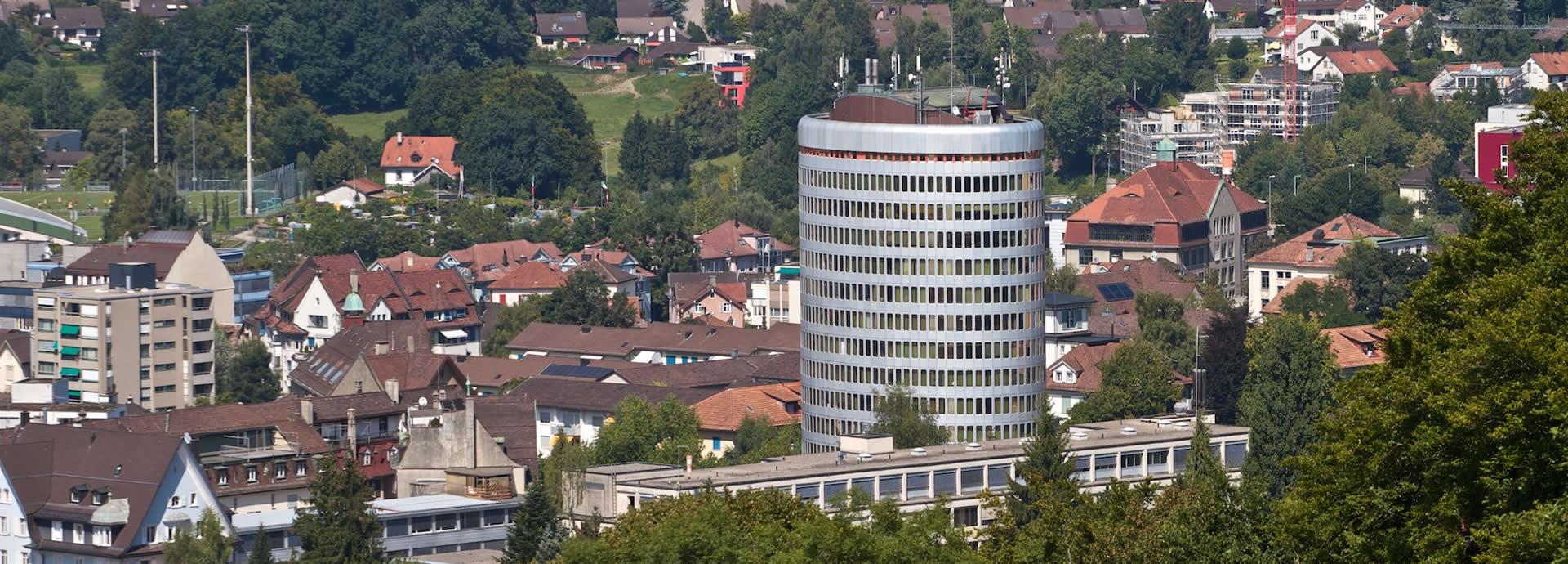 Silberturm St. Gallen Ostschweiz